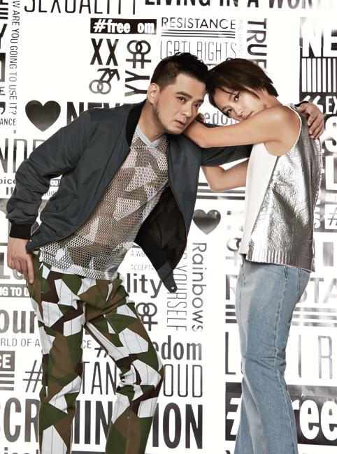 Denise Ho and Anthony Wong