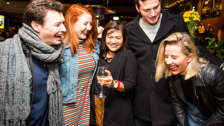 Attendees at the Time Out Pub Awards 2016, Beer DeLuxe