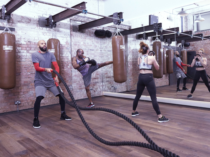 The best boxing classes in London, blok