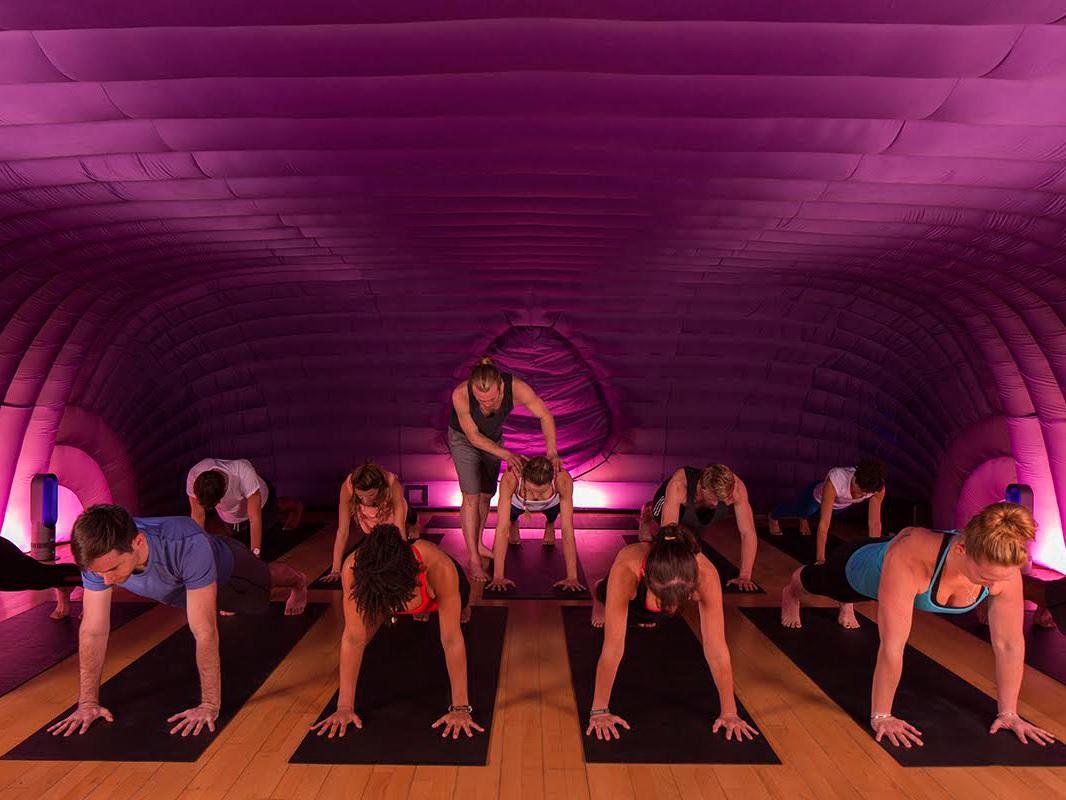 The best hot yoga and bikram in London, hotpod