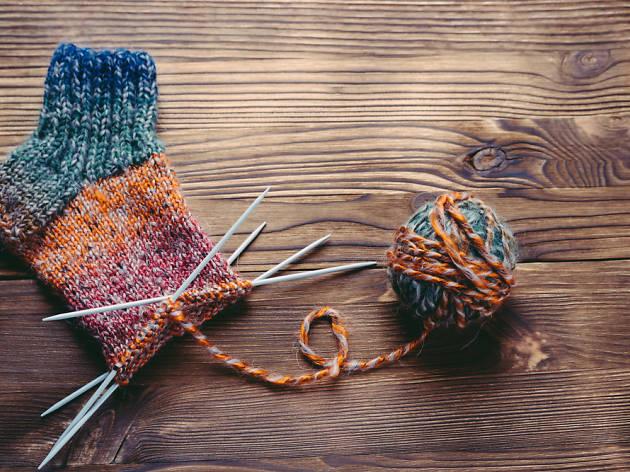 Cineknitting: amb llicència per tricotar!