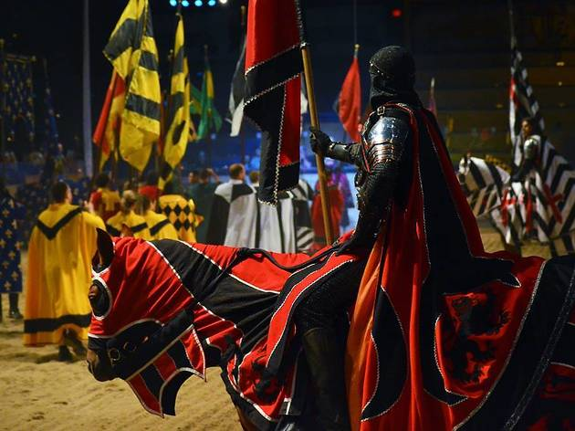 Honorable out-of-state mention: Medieval Times