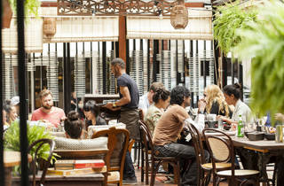 Outdoor Dining - Dishoom Shoreditch
