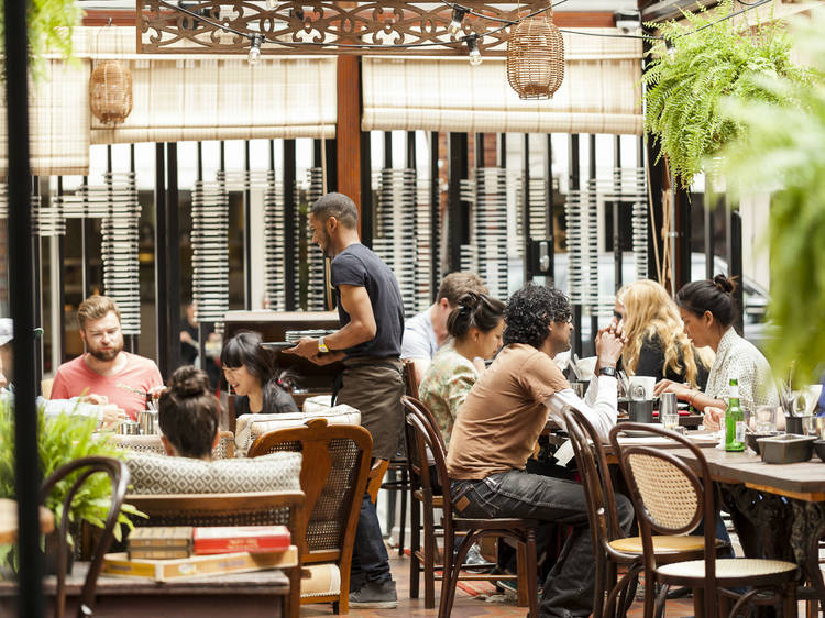 The city's best outdoor dining