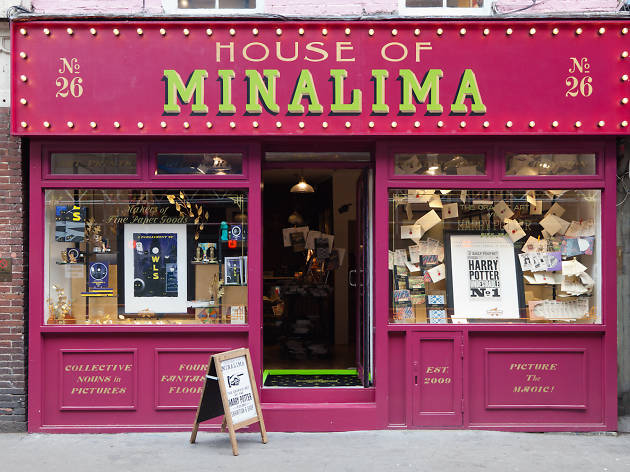 Fantastic Beasts and Where To Find Them at House of MinaLima