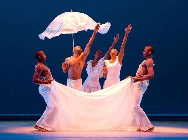 Alvin Ailey American Dance Theater, REVELATIONS, Take Me To The Water, Wade in The Water, Constance Stamatiou, Matthew Rushing, Renee Robinson
