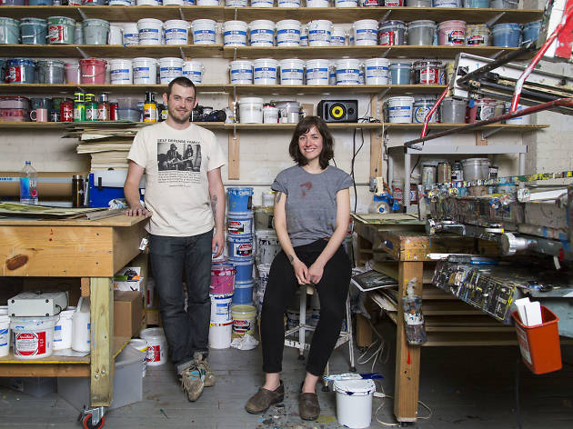 Going behind the screens with Flatstock artists
