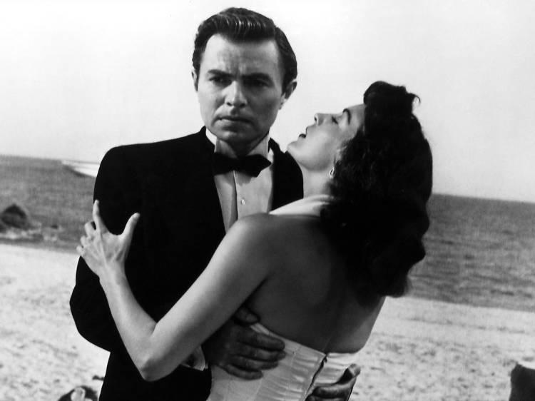 Ava Gardner i Frank Sinatra a Tossa de Mar
