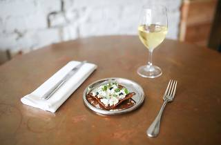 Food and wine at Marion wine bar in Fitzroy