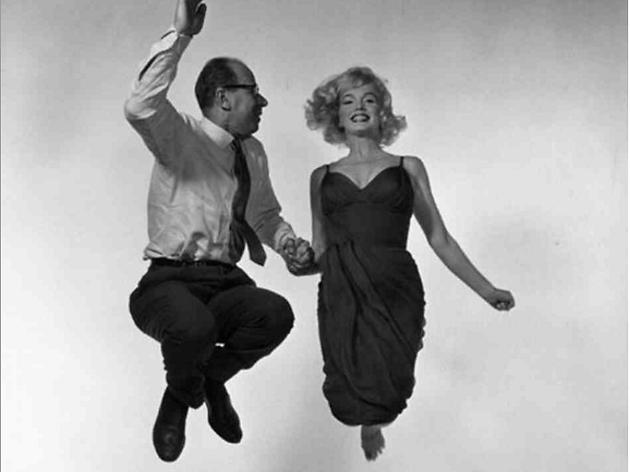 Marilyn Monroe i Philippe Halsman, 1954.