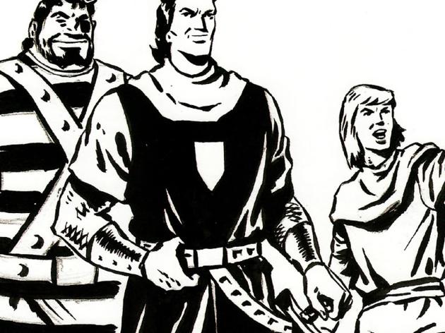 Capitán Trueno. Tras los pasos del héroe