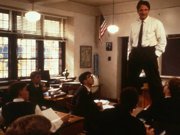 the dead poets society movie encourages people to seize the day Watch dead poets society online free set in 1959, the movie centers on the struggle of john keating, an unorthodox, energetic english.