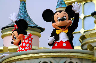 Mickey Mouse at Hong Kong Disneyland