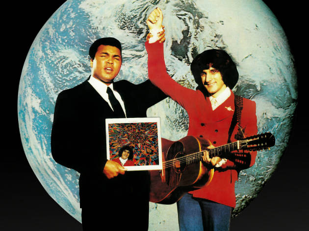 Poster of Muhammad Ali and Michel, aka Robert Williams, The Kindness Offensive