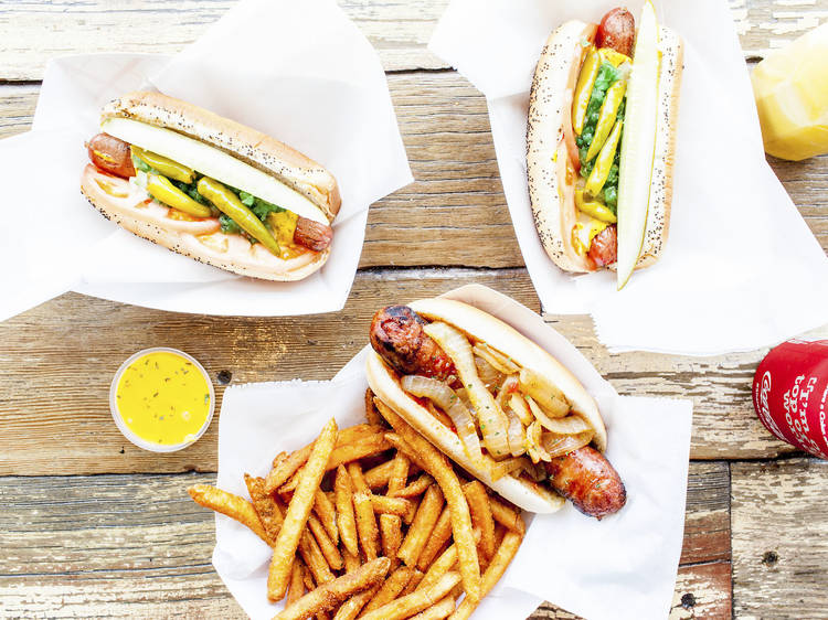 The best hot dogs in Chicago
