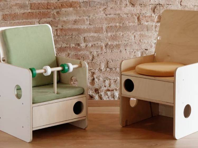 Nuun kids design: Mobles modulars i evolutius