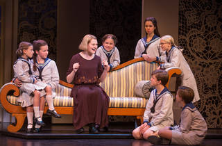 Kerstin Anderson and the cast of The Sound of Music on tour
