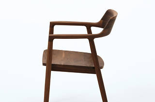 Atomi Hiroshima Armchair in Walnut