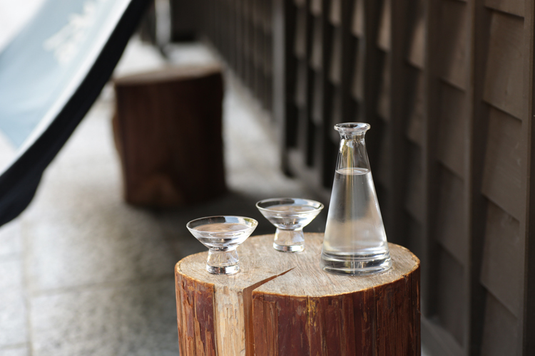 Atomi Hirota Sake Glass Set