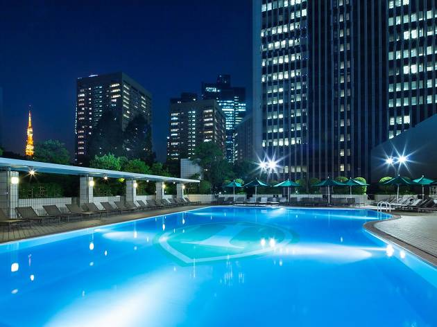 Garden Pool At Ana Intercontinental Tokyo Things To Do