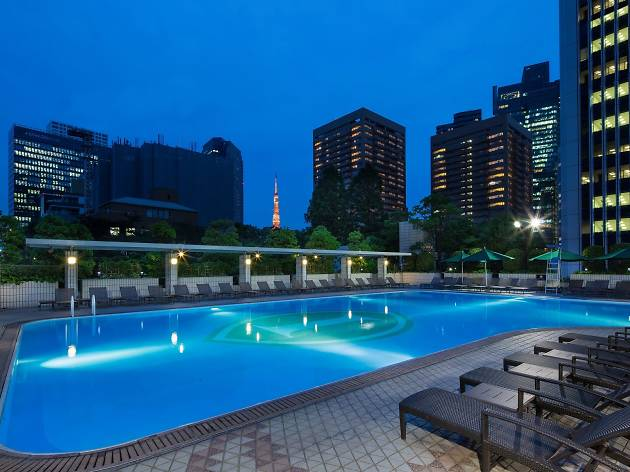 Garden pool at ana intercontinental tokyo things to do for Garden pool tokyo
