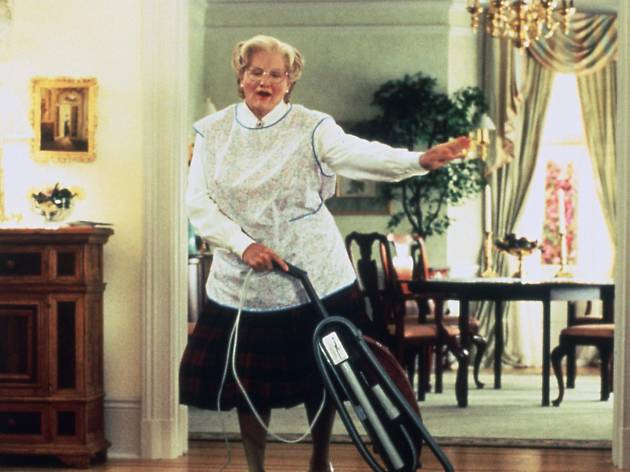 Robin Williams dans 'Madame Doubtfire' (1993) de Chris Colombus