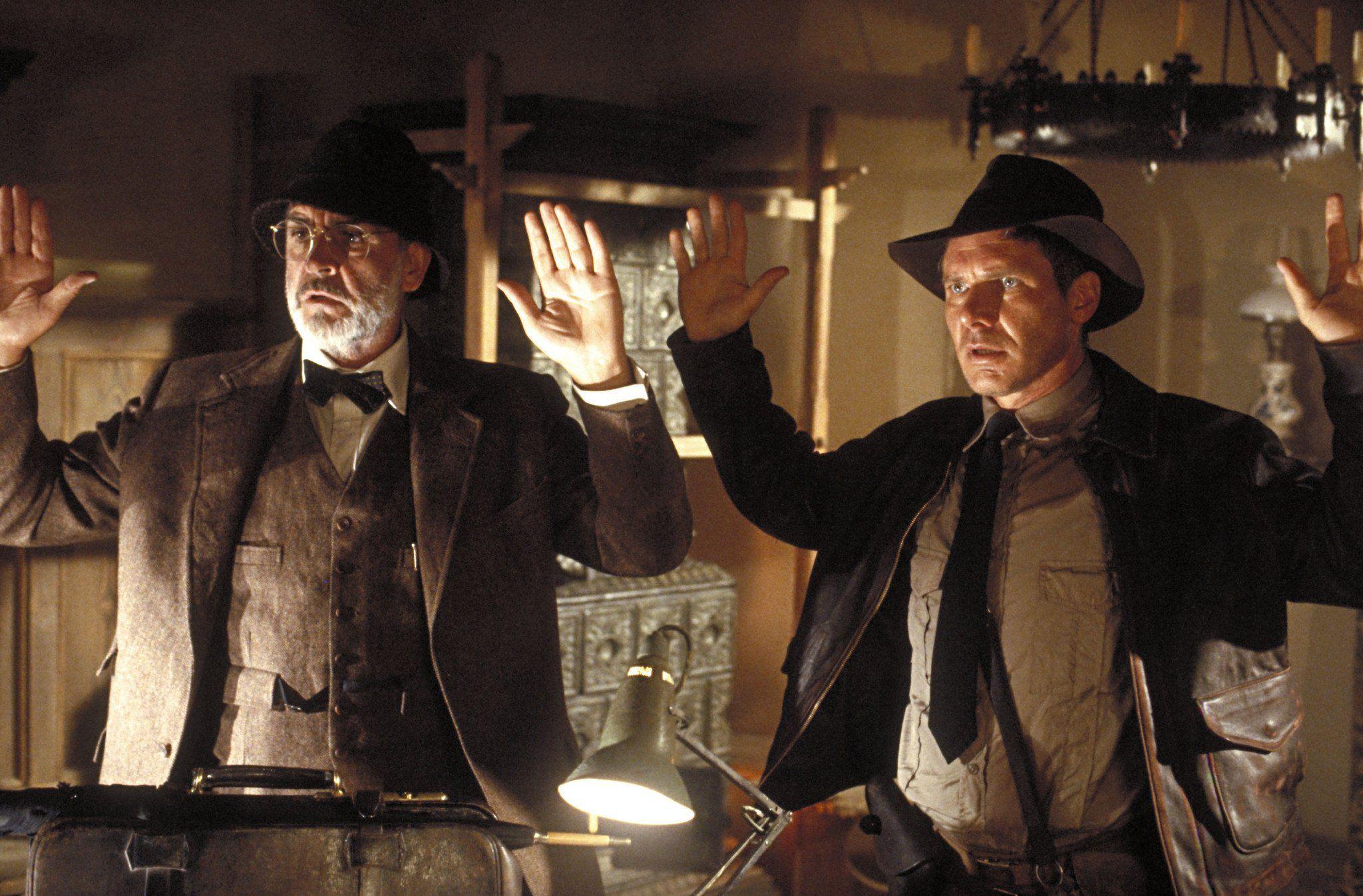 Sean Connery dans 'Indiana Jones et la dernière croisade' (1989) de Steven Spielberg