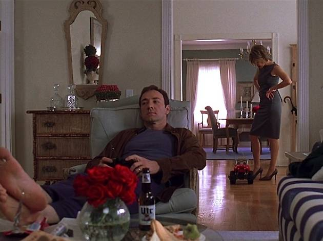 Kevin Spacey dans 'American Beauty' (1999) de Sam Mendes