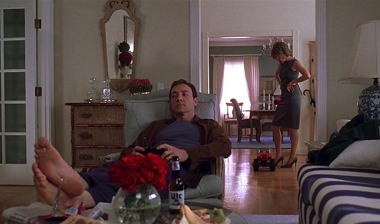 Kevin Spacey dans 'American Beauty' (1999) de Sam Mendes
