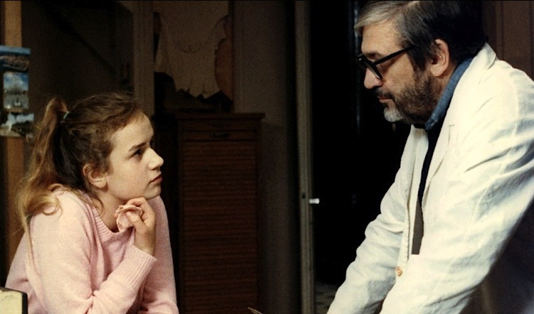 Maurice Pialat dans 'A nos amours' (1983) de Maurice Pialat