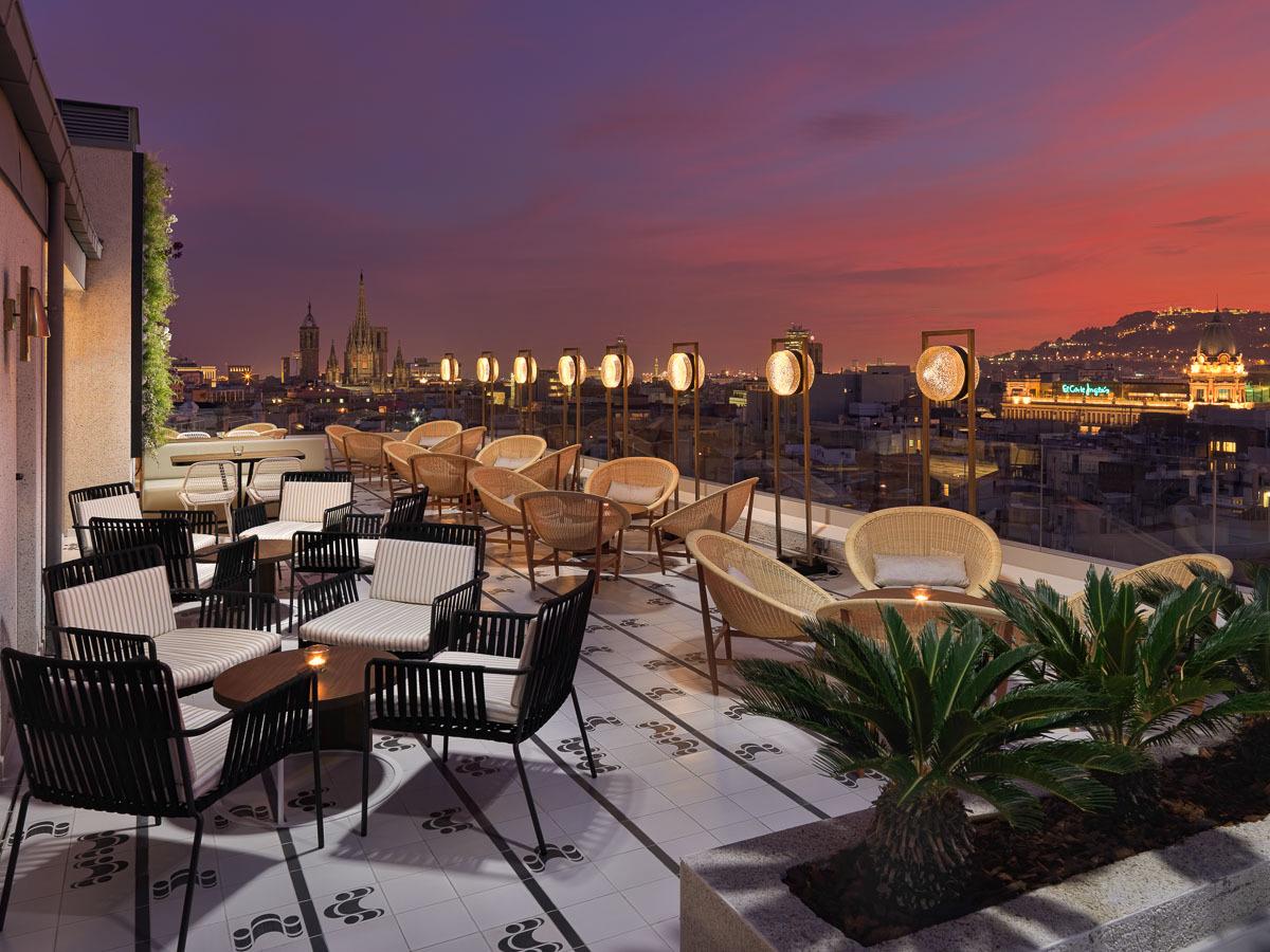 Experiencias de verano en terrazas de hoteles
