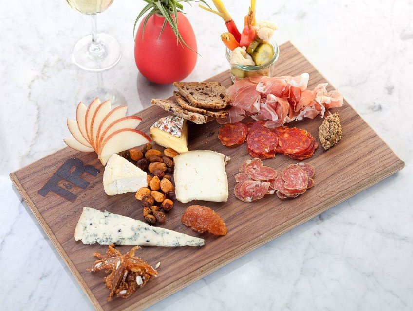 Charcuterie and cheese at Tar & Roses