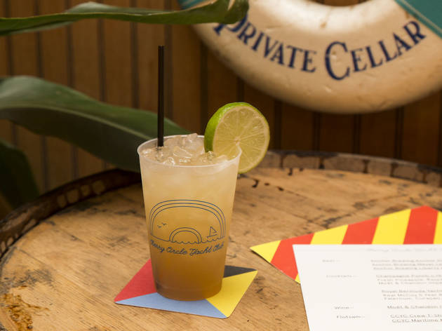 Check out the Cherry Circle Yacht Club pop-up