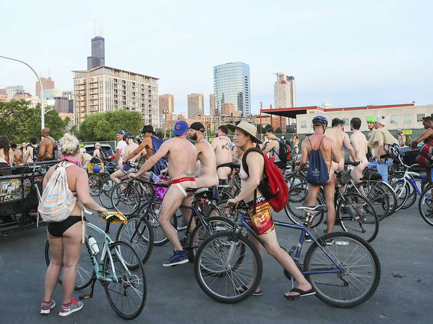 World Naked Bike Ride 2016