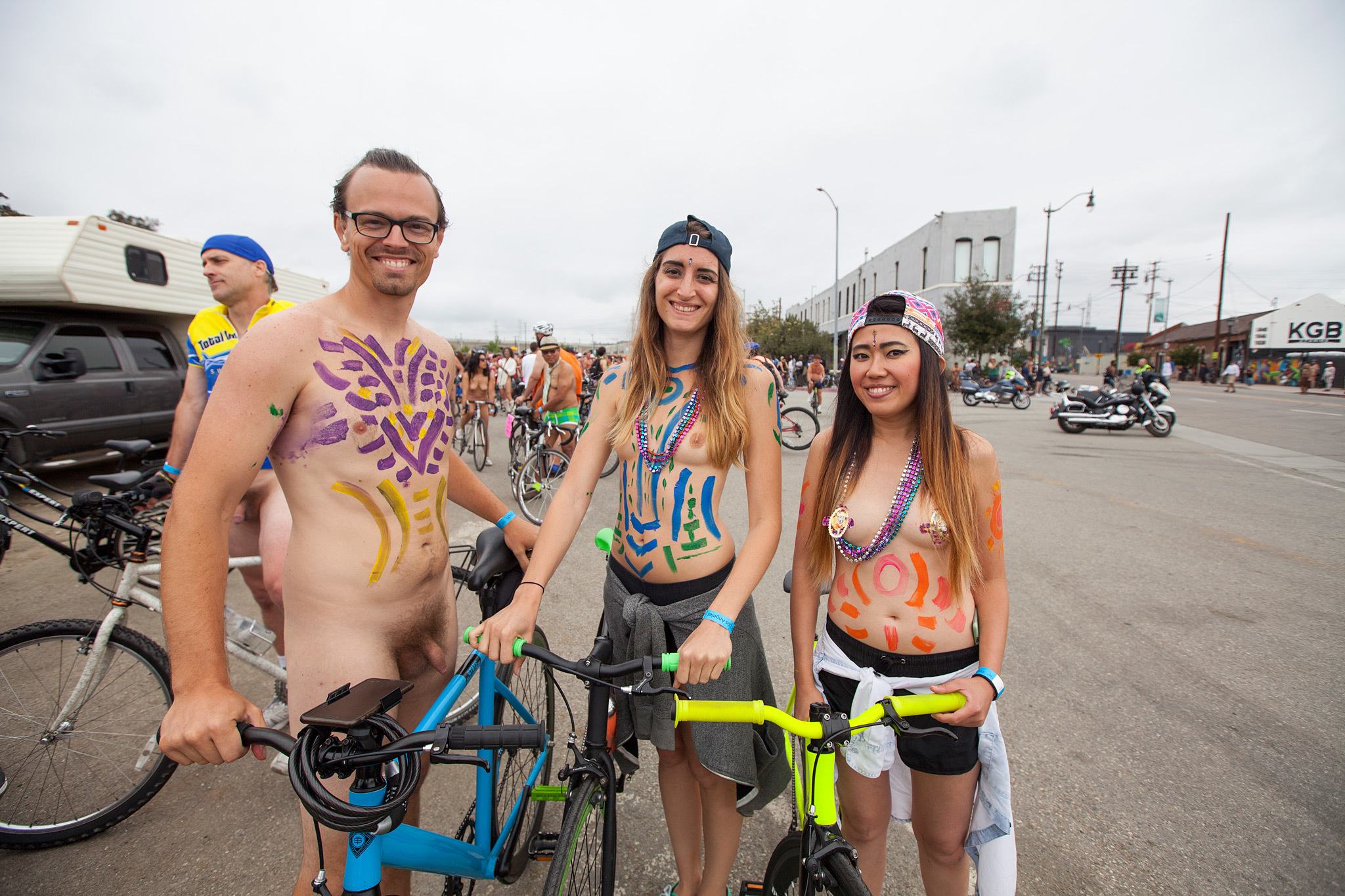 world naked bike ride