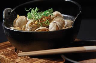 Koko's clams in sake