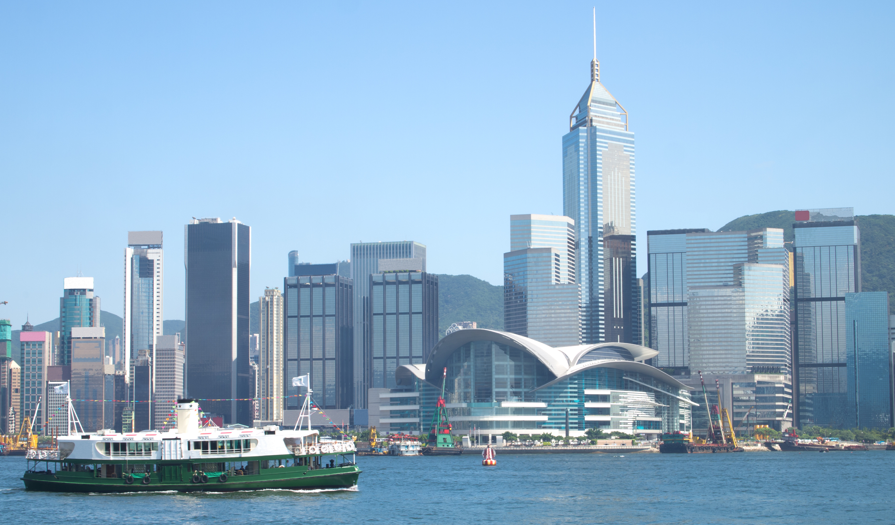 12.30pm-1pm: Take the Star Ferry to Kowloon