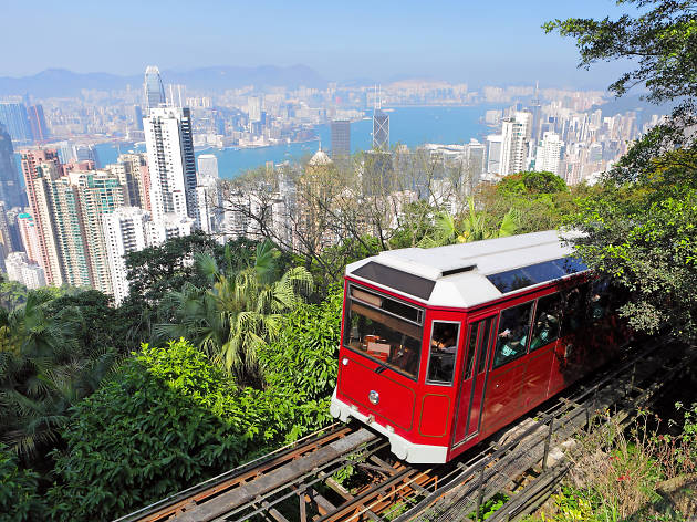 The Peak Tram reopens with a summer festival