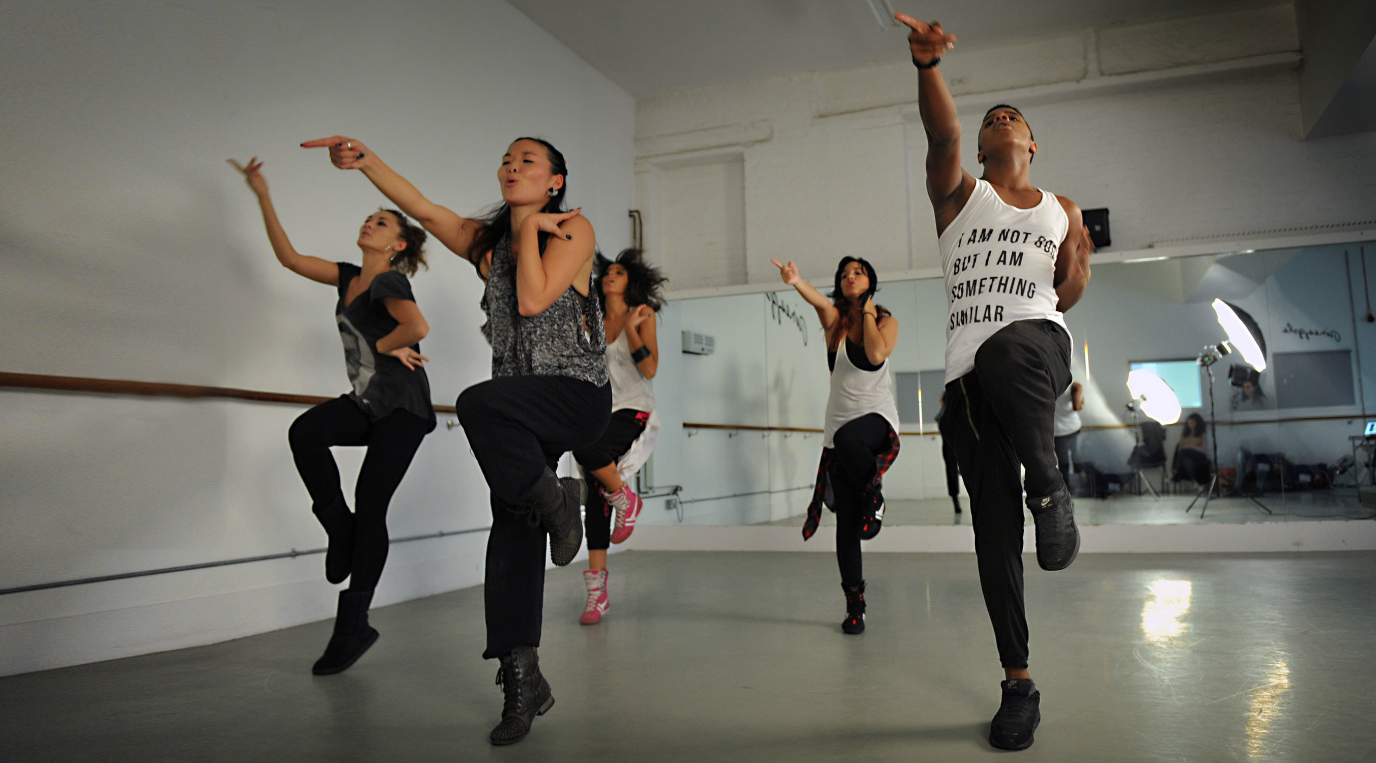 The best dance classes in London, hip hop at Pineapple dance studios