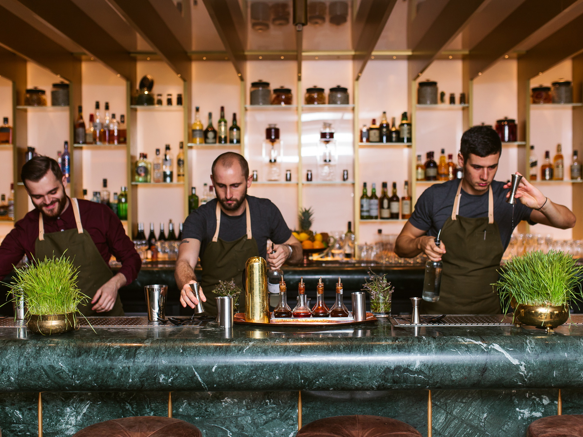 best bartender or bar team, time out london bar awards, dandelyan
