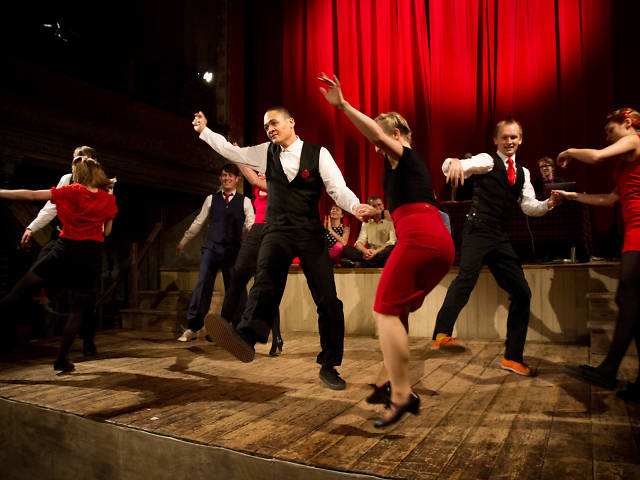 The best dance classes in London, swing dance with swing patrol