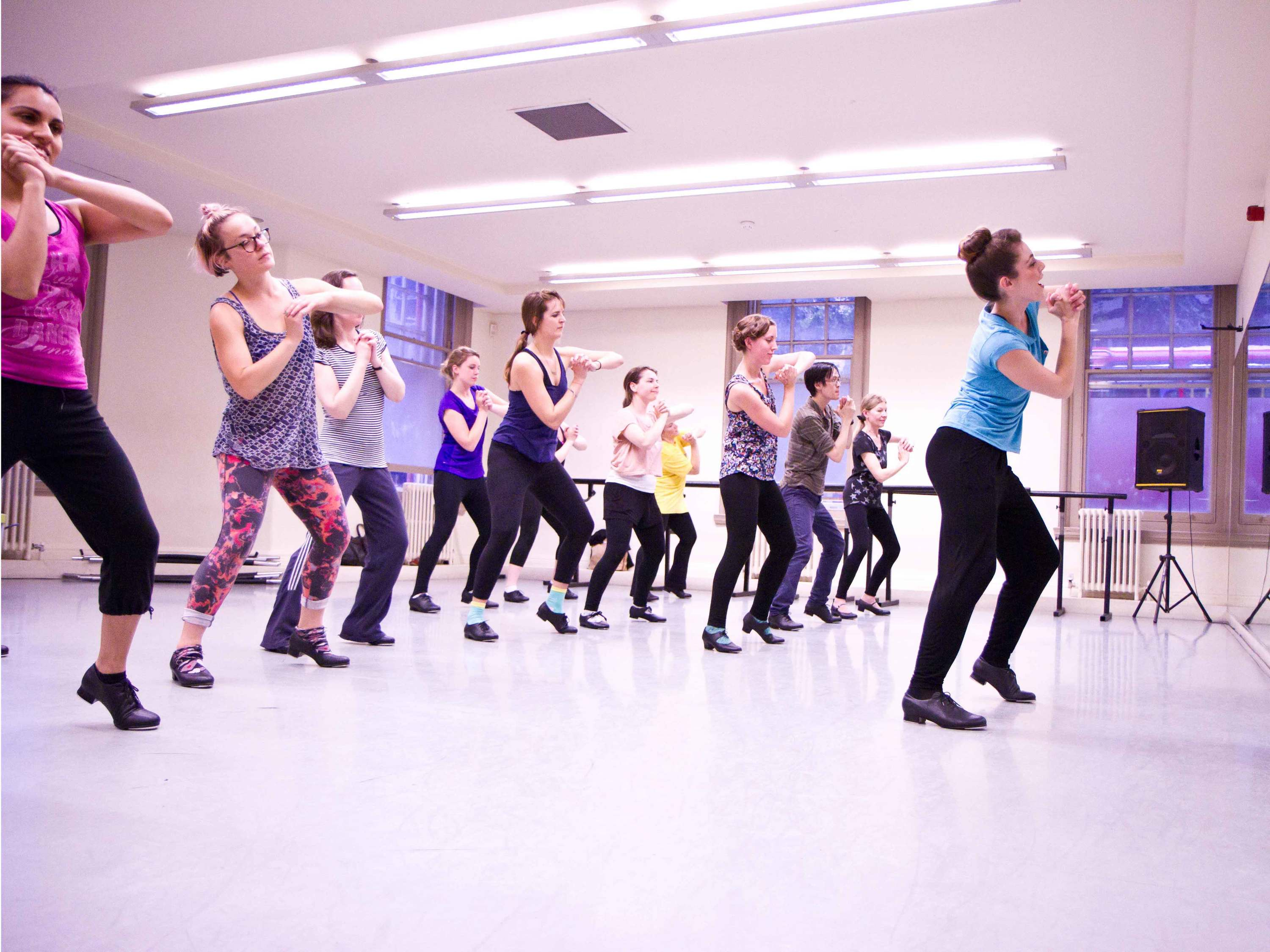 The best dance classes in London, tap dance at city academy