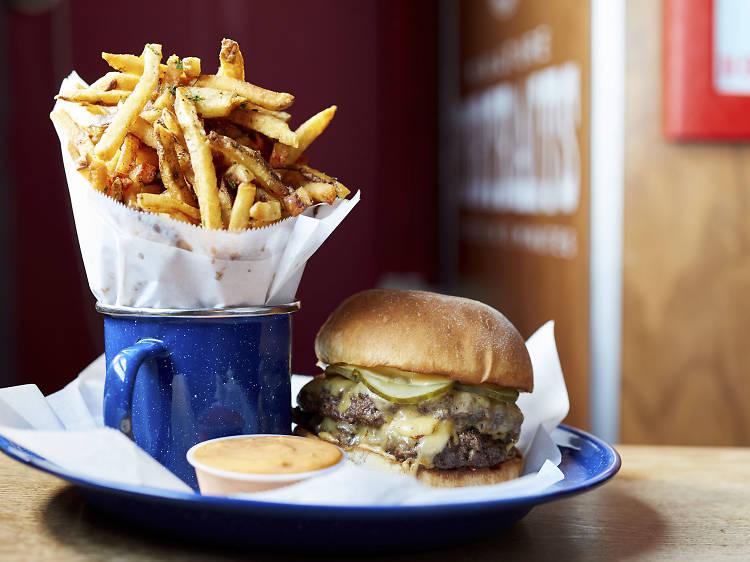 The Burger at Beard & Belly