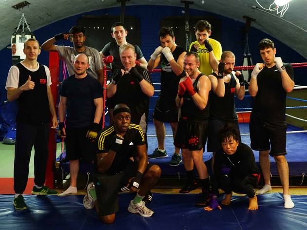 the best boxing gyms in London, arches