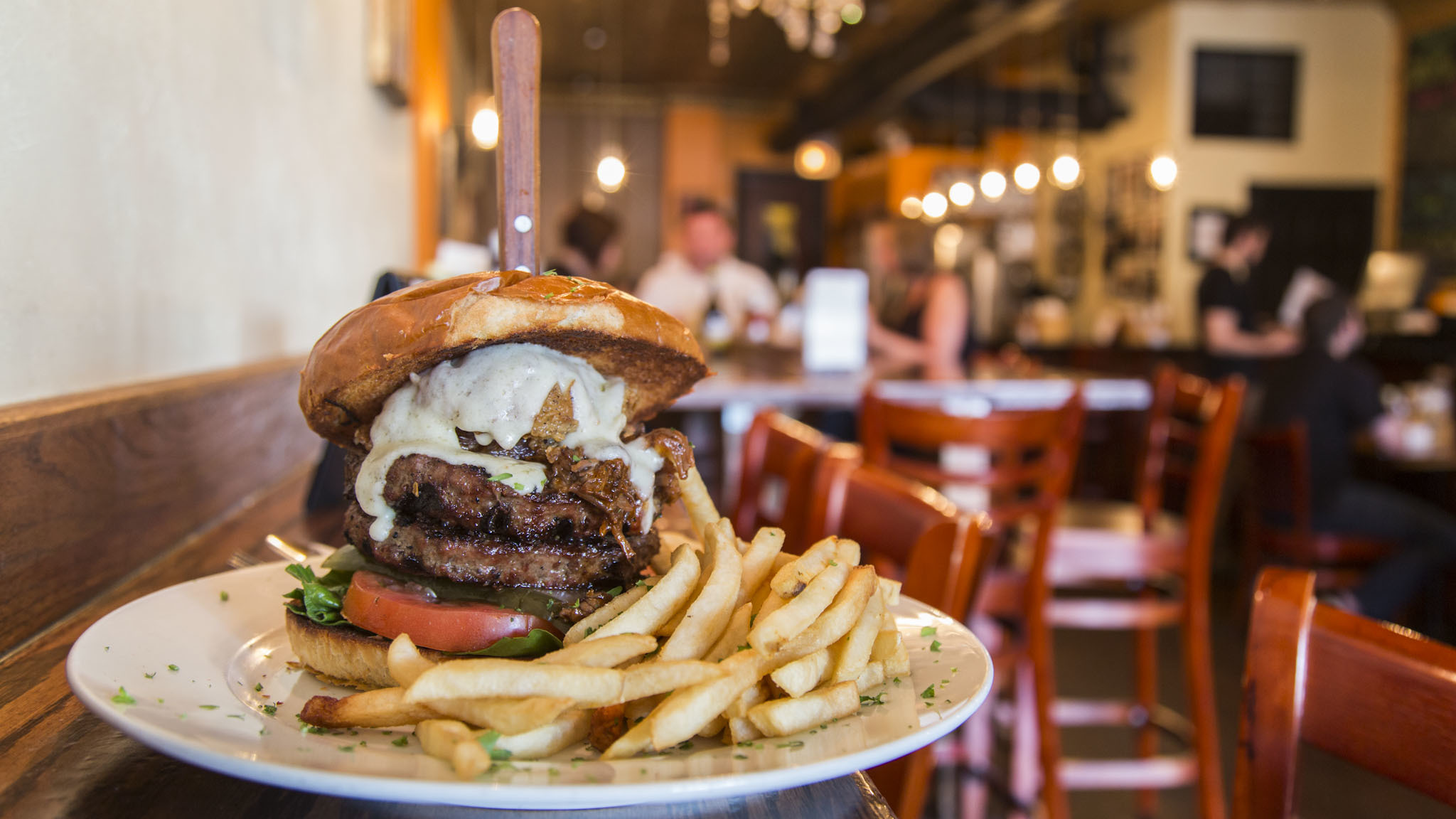 The Chicago Avenue Burger at WHISK
