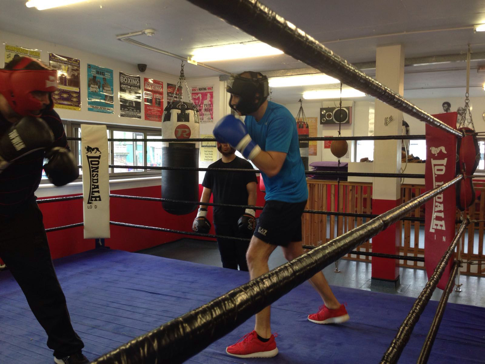 the best boxing gyms in London, left hook