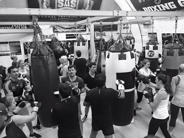 the best boxing gyms in London, miguels