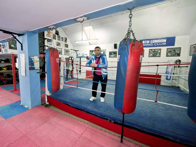 the best boxing gyms in London, north london boxing club