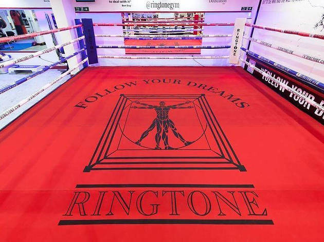 the best boxing gyms in London, ringtone gym