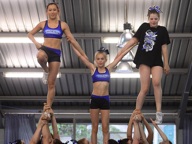 All Star Cheerleading a Barcelona